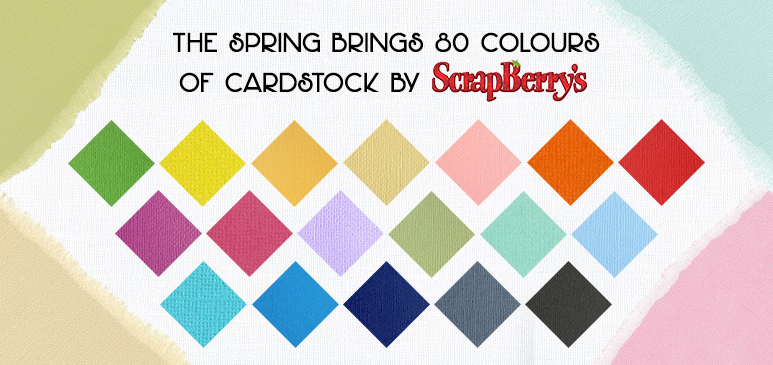 Cardstock Released For Spring on April 16th