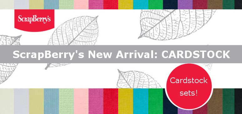 New arrival: CARDSTOCK