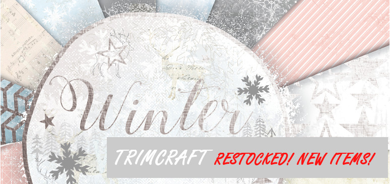Hobby&You new arrival: Christmas Trimcraft collections!