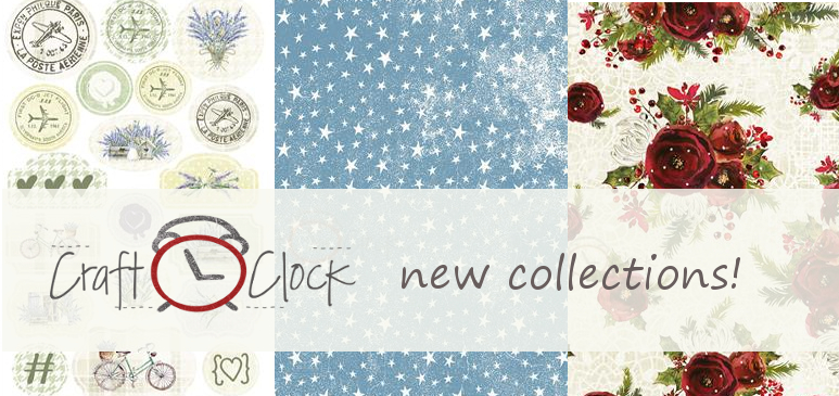 NEW Craft O'Clock  collections