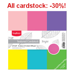 All Cardstock: -30%!