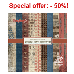 Special offer: -50% !