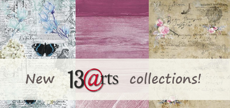 4 new 13@rts collections!