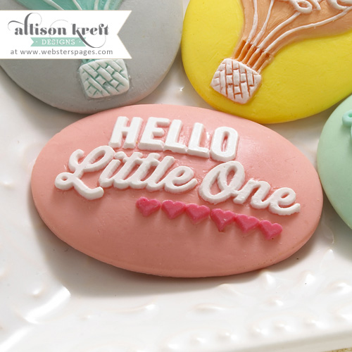 Hello Little One Cameo Set - Pink (10 pieces per pack) (clr 80)
