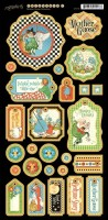 Mother Goose Chipboard Die-cuts 1 4500762 (clr 50)