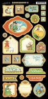 Mother Goose Chipboard Die-cuts 2 4500763 (clr 50)