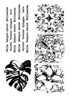 Set of polymer stamps A7 Bella