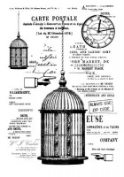 Set of polymer stamps A6 - the Cage - Rosalie