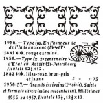 Stencil Frames And Dates - Victoriana, 15x15 cm thickness 1 mm (clr 15)