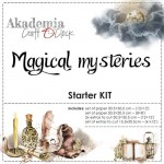 Paper Kit Magical Mysteries (250 gsm: 6 double & 2 one-sided 30,5x30,5cm 6 double-sided 15,5x30,5cm; 190 gsm: 3x6 double-sided 20,3x20,3cm)