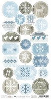 Die-cuts Brr… It's Cold Outside, 16x32cm, paper 250 gsm, pre-cut (clr 30)