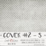 Cover 2S, 21x23cm, 2pcs in pack, laminated paper 170 gsm, matte finish (clr 15)