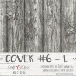 Cover 6L, 57x25cm, laminated paper 170 gsm, matte finish (for albums max 20x20cm) (clr 30)