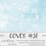 Cover 31, 60x24,2cm, laminated paper 170 gsm, matte finish (for albums max 20x20cm)