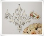 Chandelier Memo Holder 41x43 cm (clr 80)