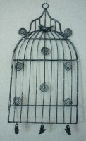 Small Birdcage Memo Holder 30x15,5 cm (clr 70)