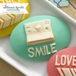 Smile Cameo Set – Teal (10 pieces per pack) (clr 80)