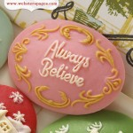 10-pc Pink Always Believe CM5100 (clr 70)