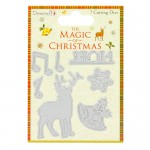Dovecraft The Magic of Christmas Steel Cutting Die