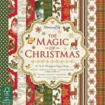 Dovecraft The Magic of Christmas FSC 6x6 Paper Pack (48 sheets, 12 designs, 150 gsm)