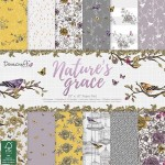 Dovecraft Nature's Grace FSC 12x12 Paper Pack 150 gsm (36 sheets, 12 designs, 3 units of each sheet)