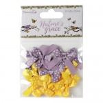 Dovecraft Nature's Grace Mini Bows (20 pcs, 2.5cm x 3.5cm)