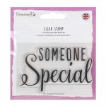 Dovecraft A7 (7.4x10.5cm) Photopolymer Clear Stamp - Someone Special (clr 70)