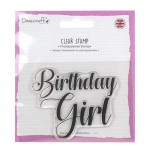 Dovecraft A7 (7.4x10.5cm) Photopolymer Clear Stamp - Birthday Girl (clr 50)