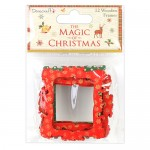 Dovecraft The Magic of Christmas Wooden Frames (12 pcs) (clr 30)