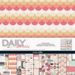 Daily Stories: Collection Packs (9 sheets of designed cardstock 12X12, 2 sheets of cardstock stickers) (clr 70)