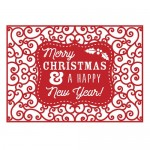 First Edition Christmas Craft A Card Die - Happy New Year 5