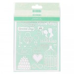 First Edition Paper Cuts - Wedding (6 in a pack) (clr 50)