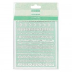 First Edition Paper Cuts - Borders (6 in a pack) (clr 50)