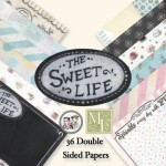 Melissa Frances - The Sweet Life Collection - 6 x 6 Paper Pad, 36 Sheets (clr 70)