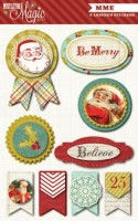 Mistletoe Magic Layered Stickers (9 pieces per pack) (clr 80)