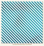 Teals Stripe (Single 12X12 Foiled Vellum Sheet) (clr 50)