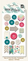 Celebrate Decorative Buttons (21 pieces per pack) (clr 80)