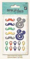 Smile Enamel Shapes (17 pieces per pack) (clr 70)