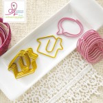Paperclips Houses & Speech Bubbles (5 Pieces of each per pack) (clr 70)
