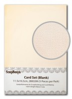 Blank Cards 11.5x16.5cm 280GSM (5 Pieces per Pack) (clr 50)