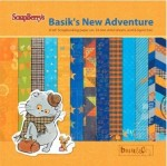 Paper Collection Set Basik's New Adventure (6*6-190GSM), 24 Single Sided Sheet Pack (clr 50)