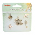 Metal charms set Fairy Tale 2 (clr 30)
