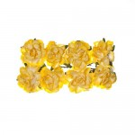 Paper Flowers Clove Light yellow (8 Pieces Per Pack)