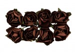 Paper Flowers – Rose – Brown (8 Pieces Per Pack) (clr 50)