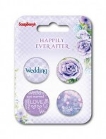 Set of embellishments № 2 Happily ever after (clr 50)