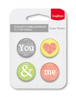 Set of embellishments №2 You and Me (clr 30)