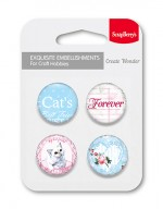Set of embellishments № 2 Forever (clr 30)