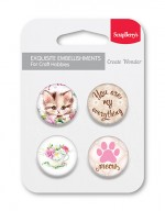 Set of embellishments № 3 You're my everything (clr 50)