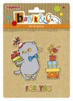 Basik's New Adventure Set of stamps (10.5*10.5cm) - Basik's Party 1 (clr 50)