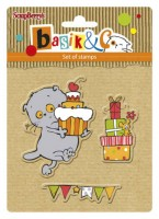 Basik's New Adventure Set of stamps (10.5*10.5cm) - Basik's Party 2 (clr 50)